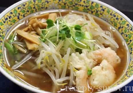 Рецепты супа рамен с фото
