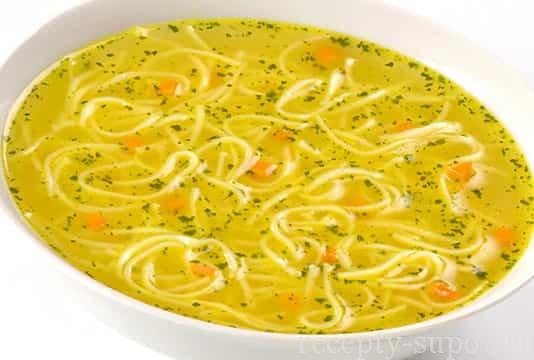 Как сделать лапшу для супа видео 982