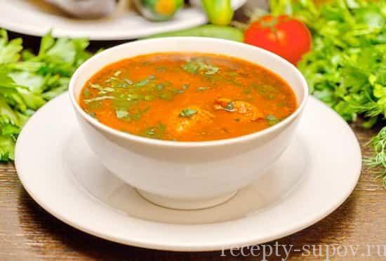 рецепт приготовления супа чесночка