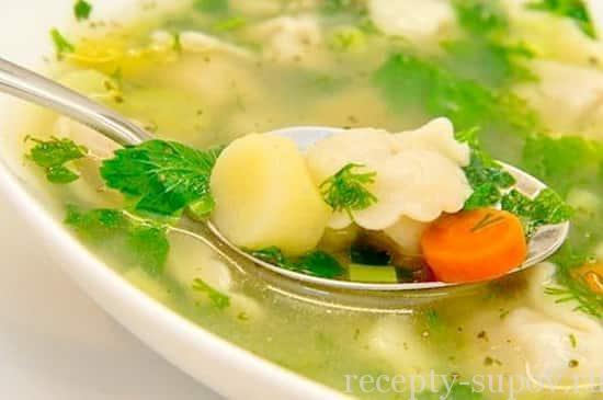 куриный суп рецепт с клецками