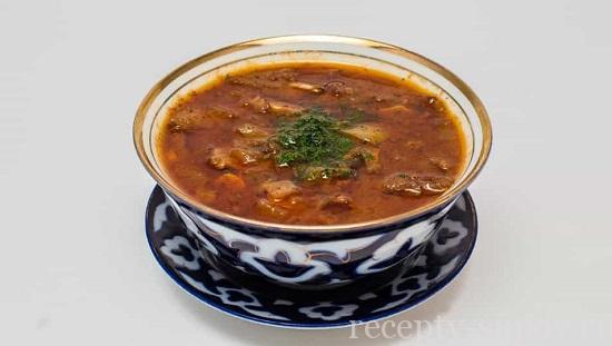 суп харчо без мяса рецепт из пакетиков