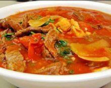 рецепт харчо из свинины с рисом
