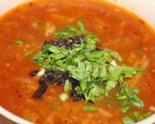 рецепт вегетарианского супа харчо