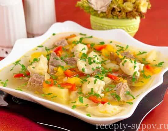 рецепт супа с картофельными клецками