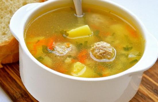 Суп с мясными фрикадельками рецепт с фото пошагово