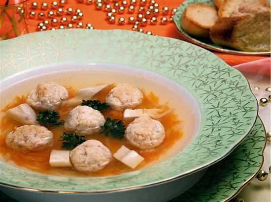 рецепт рыбного супа с галушками из теста