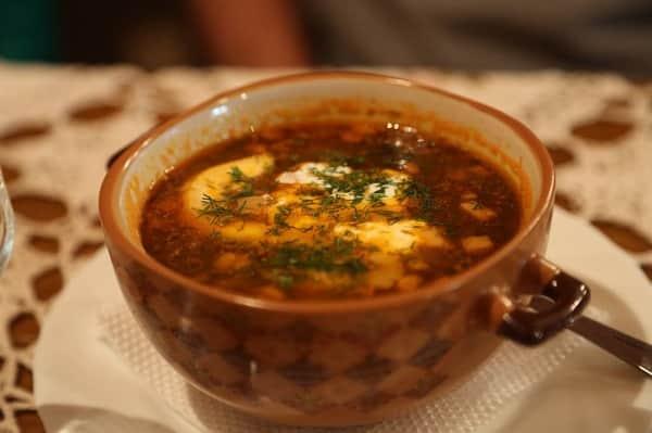 Рецепт солянки с грибами в мультиварке