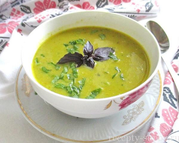 Суп из кабачковы быстро и вкусно с фото пошагово