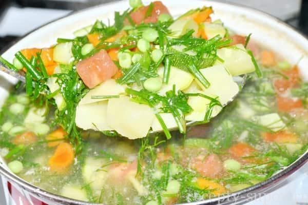 Кабачковый суп-пюре