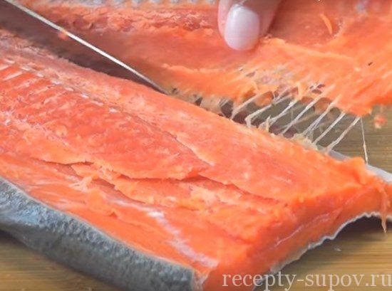 Уха по-фински со сливками рецепт: из красной рыбы