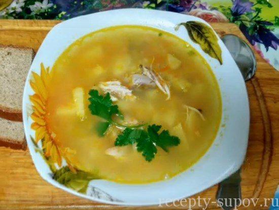 суп-пюре гороховый рецепт классический