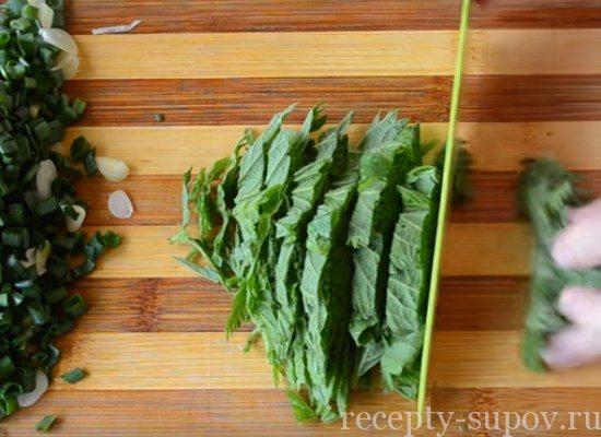 Зелёный борщ с щавелем и яйцом: простые рецепты