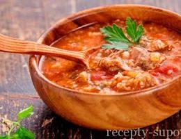 рецепт постного супа харчо
