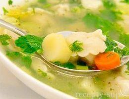 рецепт куриного супа с клецками