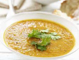 тайский морковный суп
