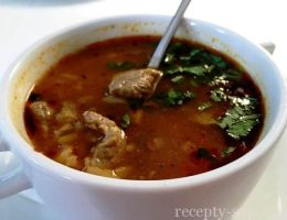 Рецепт супа Харчо из баранины