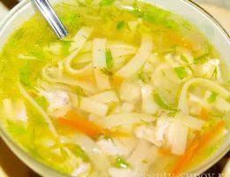 рецепт супа из говядины с картошкой и лапшой