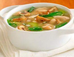 рецепт супа с белыми грибами