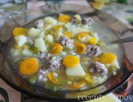 рецепт рисового супа с фрикадельками