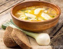 рецепт куриного супа с галушками