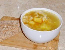 Суп с вермишелью и картошкой рецепт