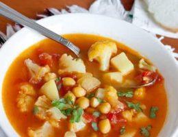 суп с чечевицей и бараниной