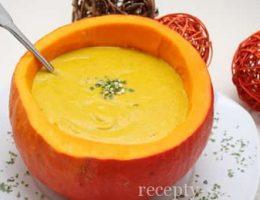 сладкий суп из тыквы