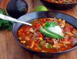 Рецепт томатного супа с фасолью и фрикадельками